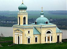 Церковь Александра Невского крепости в Хотине