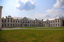 Внутренний двор Вишневецкого дворца