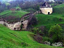 Ясські ворота фортеці в Хотині