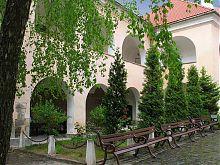 Верхній двір мукачівського замку Паланок