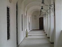 Дворцовая открытая галерея мукачевского замка Паланок