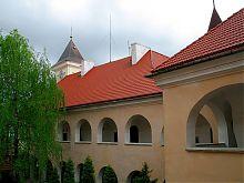 Західний корпус палацового комплексу мукачівського замку Паланок