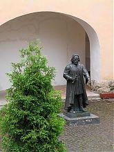 Статуя Федора Коріатовича мукачівського замку Паланок
