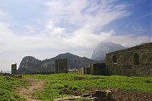 Північно-західна ділянка стіни генуезької фортеці в Судаку