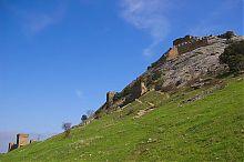 Комплекс Верхней генуэзской крепости в Судаке