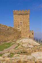 Консульская башня генуэзской крепости в Судаке