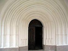 Вхід у внутрішні приміщення Східної вежі крепости в Хотині