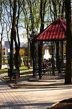 Беседка в парке им.А.С.Щербакова Донецка