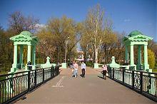 Ротонды у входа в парк им.А.С.Щербакова Донецка