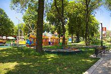 Аттракционы парка им. А.С. Щербакова в Донецке
