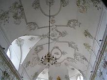 Звід центрального нефа Домініканського костелу святого Миколая в Кам'янець-Подільському