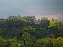 Середній ярус парку Володимирська гірка в Києві