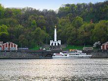 Нижній ярус парку Володимирська гірка в Києві