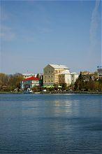 Старий замок з боку Тернопільського ставу
