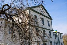 Восточный главный фасад Старого замка Тернополя