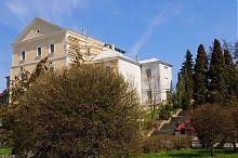 Південно-західний фасад комплексу замку в Тернополі