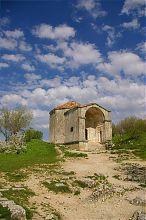Джанике-ханым дюрбе пещерного города Чуфут-Кале в Крыму