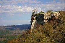 Плато печерного міста Чуфут-Кале в Криму
