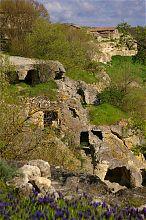 Печерне місто Чуфут-Кале в Криму