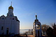 Храм на честь Святого Миколая на Монастирському острові Дніпропетровська