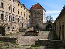 Хозяйственный двор Свиржского замка Львовщины
