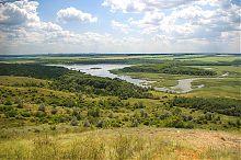 Клебан-Бикське водосховищі в Олександро-Калинове