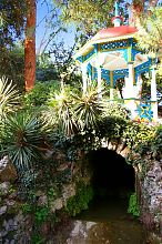 Китайська альтанка ботанічного саду в Нікіті