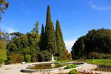 Басейн розарію в ботанічному саду Нікіти