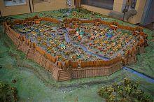 Макет фортеці Бахмут державного краєзнавчого музею Артемівська