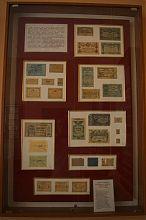Експонати колекції нумізматики державного краєзнавчого музею в Артемівську