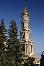 Вершина Александровской колокольни харьковского кафедрального Успенского собора