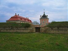 Южная куртина в Золочевском замке Львовщины