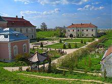 Внутренний двор в Золочевском замке Львовщины