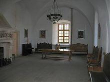Интерьеры XVII века в золочевском замковом дворце Львощины