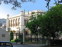 Юго-восточный фасад одесского Шахского дворца