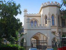 Центральные врата одесского Шахского дворца