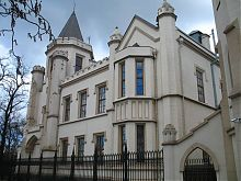 Северный фасад одесского Шахского дворца