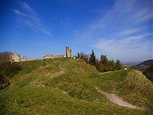 Руины замка в Кременце