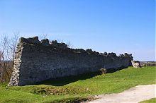 Східна оборонна стіна замку в Кременці