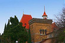 Дворец княгини Гагариной в поселке Утес