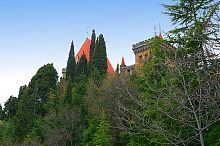 Парк дворца княгини Гагариной в пос. Утес