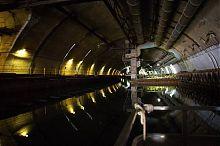 Сухой док балаклавского музея подводных лодок