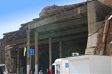 Вход в музея подводных лодок Балаклавы