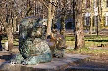 Лев днепропетровского парка им. Т.Г. Шевченко