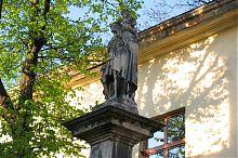 Статуя святого Христофора львовского Армянского Успенского собора во Львове