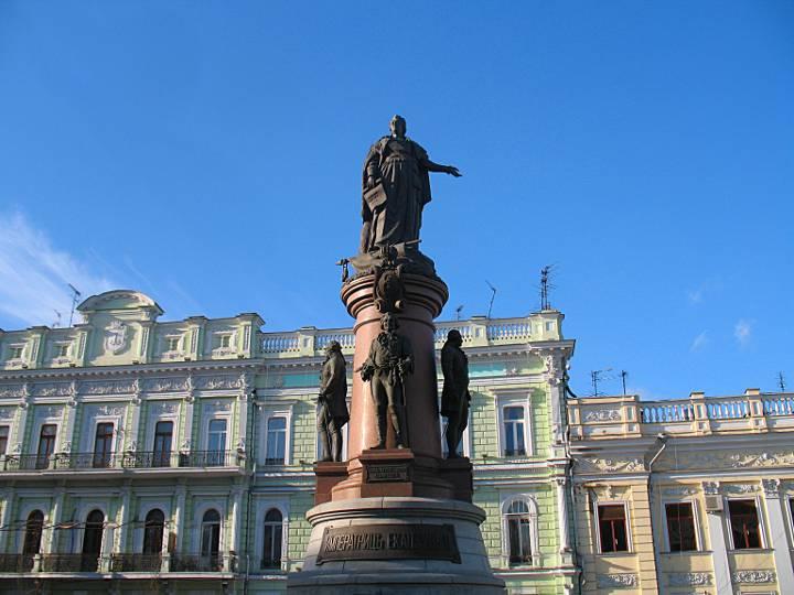 Картинки по запросу Одесса памятник Екатерине