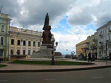 Памятник одесский Екатерине II
