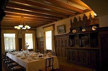 Парадная столовая дворца в Массандре