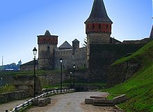 Башня Рожанка крепости в Каменец-Подольском