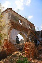 Руїни Бережанській синагоги